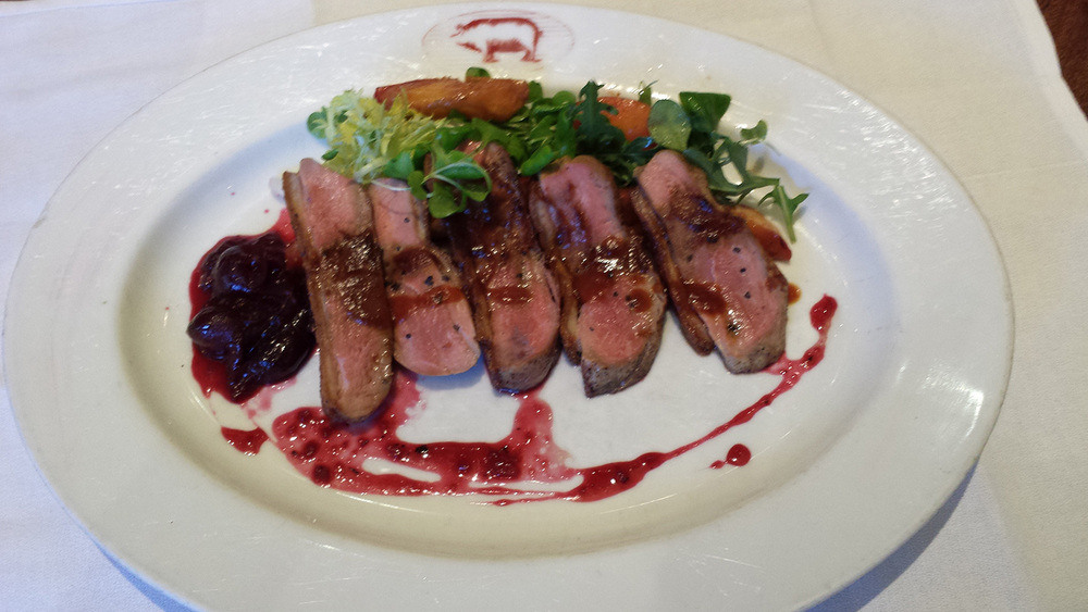 Seared Maple Duck (Photo courtesy of Brendy Monsada)