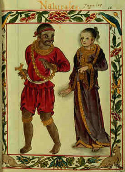 A tagalog royal and his wife in the 16th century (Source: filipiknow.net and Boxer Codex)