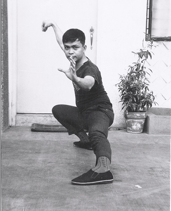 Rene J. Navarro in Tai chi Snake Creeps Down (1969) (Photo courtesy of Rene J. Navarro)