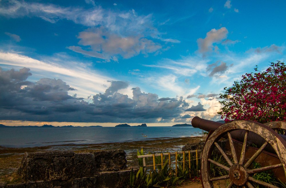 Cannon in El Nido, Palawan