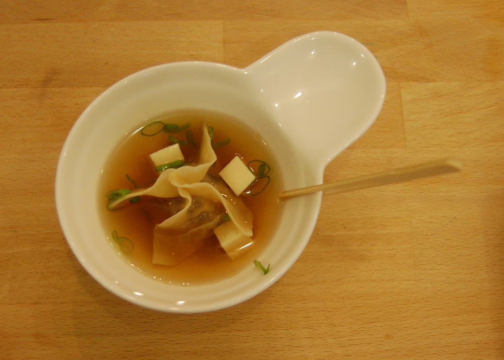 Shrimp Wonton Soup (Photo by Raymond Virata)