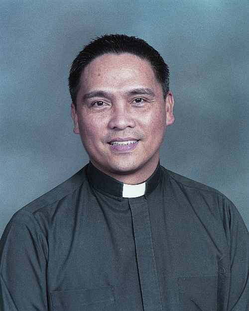 Fr. Engelbert Gammad, Adjutant Judicial Vicar in the Diocese of San Jose and first president of the first US national all-Filipino priests assembly (Photo courtesy of Fr. Gammad)