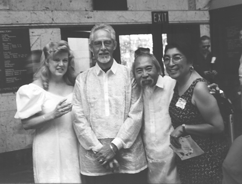Candy Mendoza, Al Mendoza, Royal Morales and Ester Soriano (Source: SIPA)