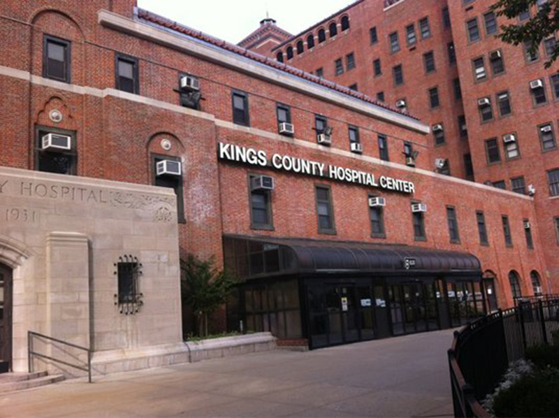 A recent picture of Kings County Hospital Center