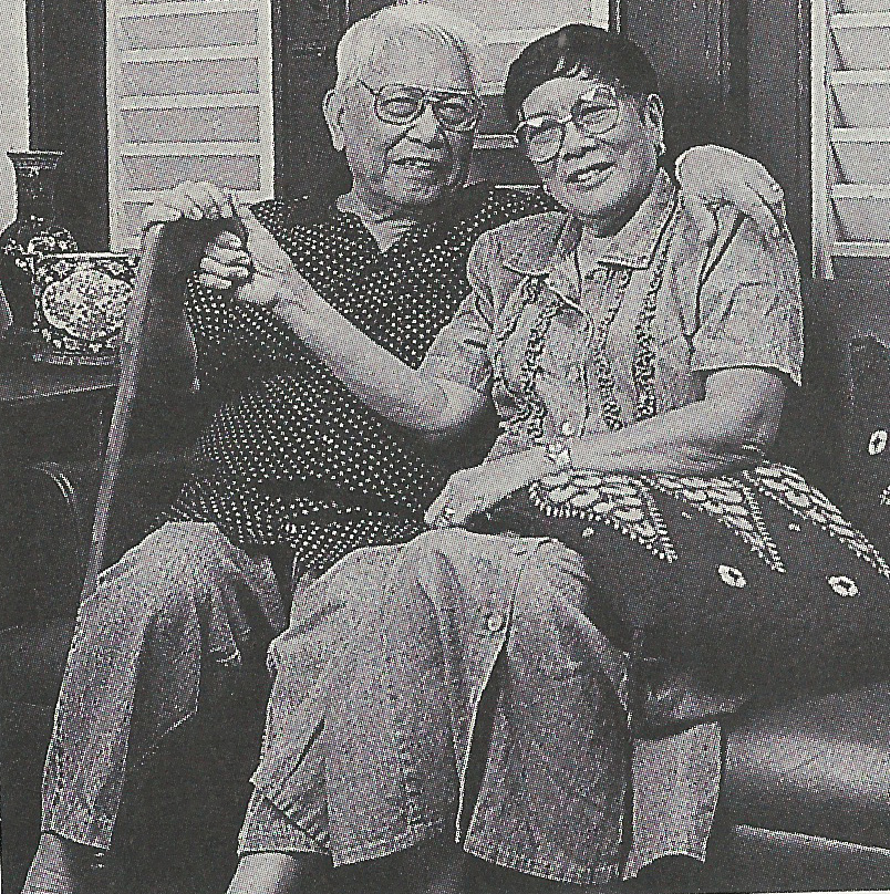 Gonzalez and his wife, Narita (Photo by Ellen Tuyay)