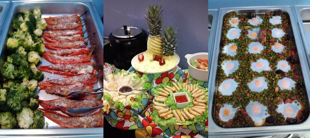 Kababayan's lunch buffet (Source: facebook.com)