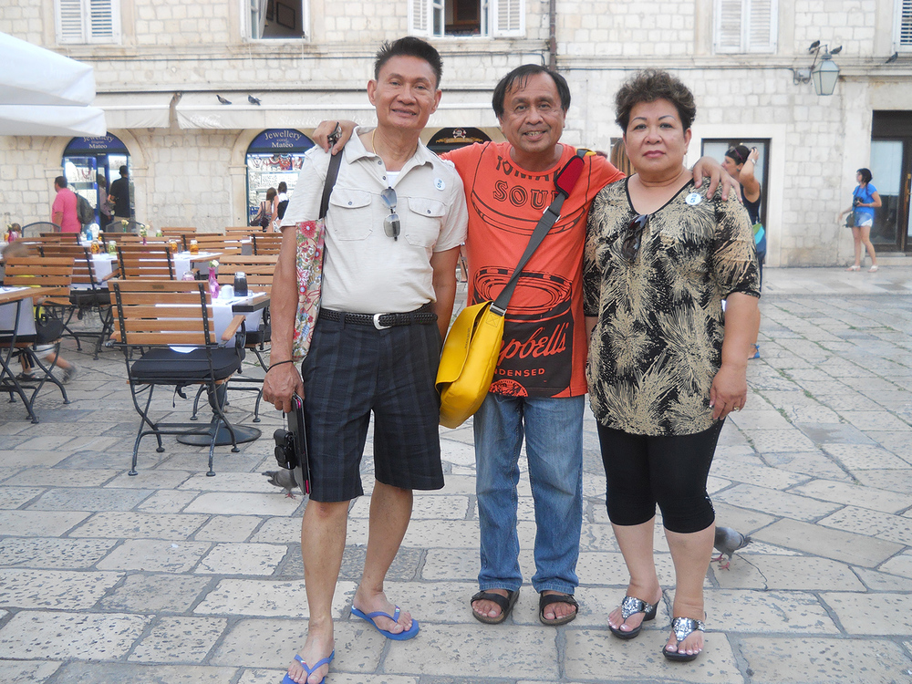 Fred and Julie Lingaolingao of San Jose, California (Photo courtesy of Rey E. de la Cruz)