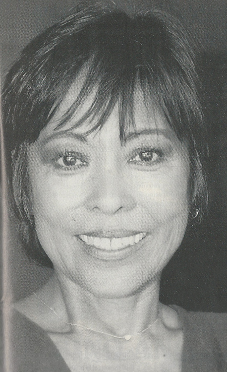 An Imperfect Place: Sumi Haru knows only too well that Hollywood isn't generous to Asian American actors. (Photo reprinted from  Filipinas Magazine)