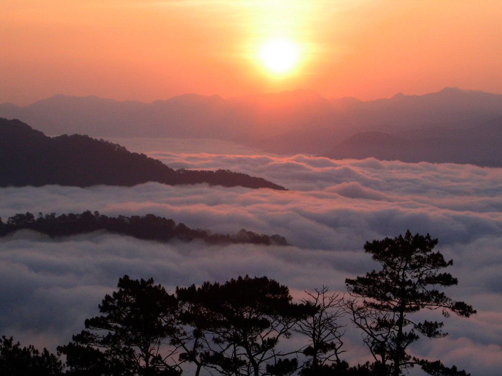 """Sagada Sunrise"" by Omar Paz"