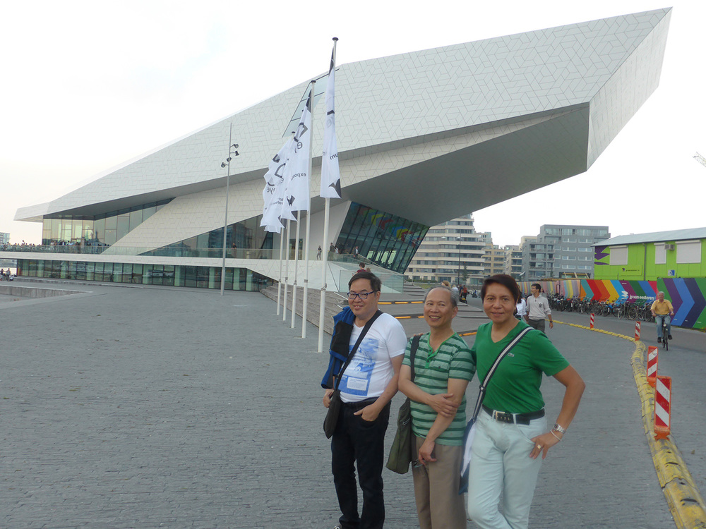 (L-R) Jing Chua (Manila), Franklin Bobadilla (Amsterdam), and Eddie Tuico (Houston). (Photo courtesy of Frank Bobadilla)