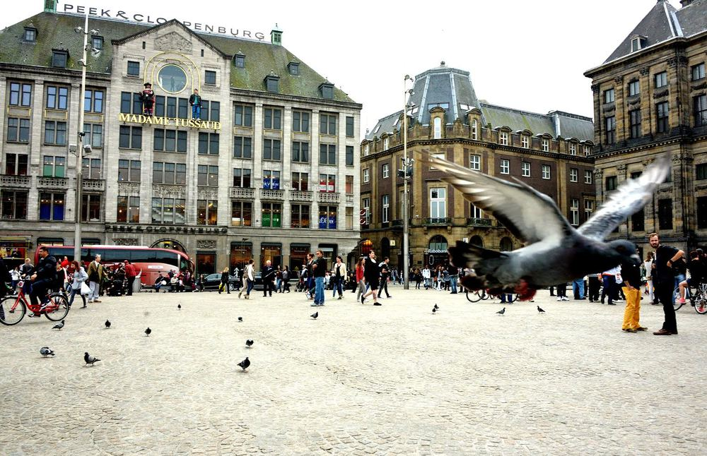 De Dam Square, Amsterdam (Photo by Tony Ramos)
