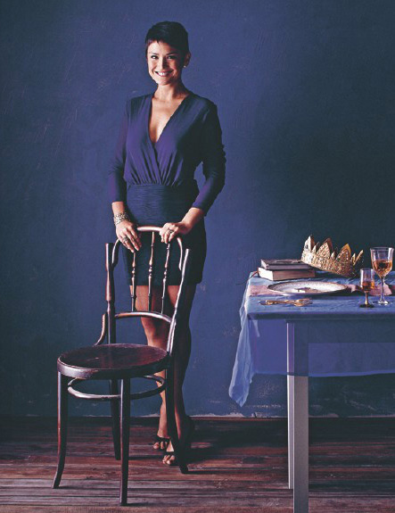 Yasmin Newman, journalist and cookbook author (Photo by Nigel Lough.  Reprinted   with permission from Hardie Grant) )