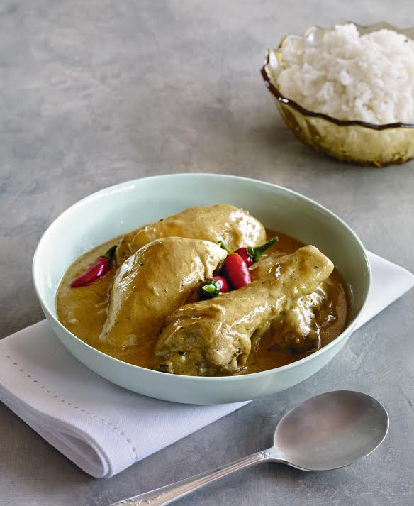 Chicken and coconut milk adobo (adobong manok sa gata) (Reprinted with permission from Hardie Grant)
