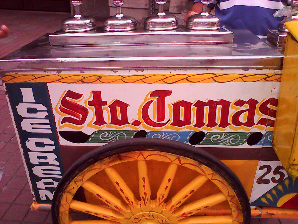 The ice cream vendor's cart (Photo by Patrick Roland De Guzman/Creative Commons license)