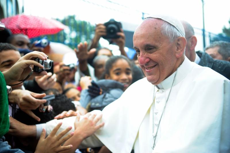 Pope Francis (Photo byTânia Rêgo/ABr, Creative Commons License)