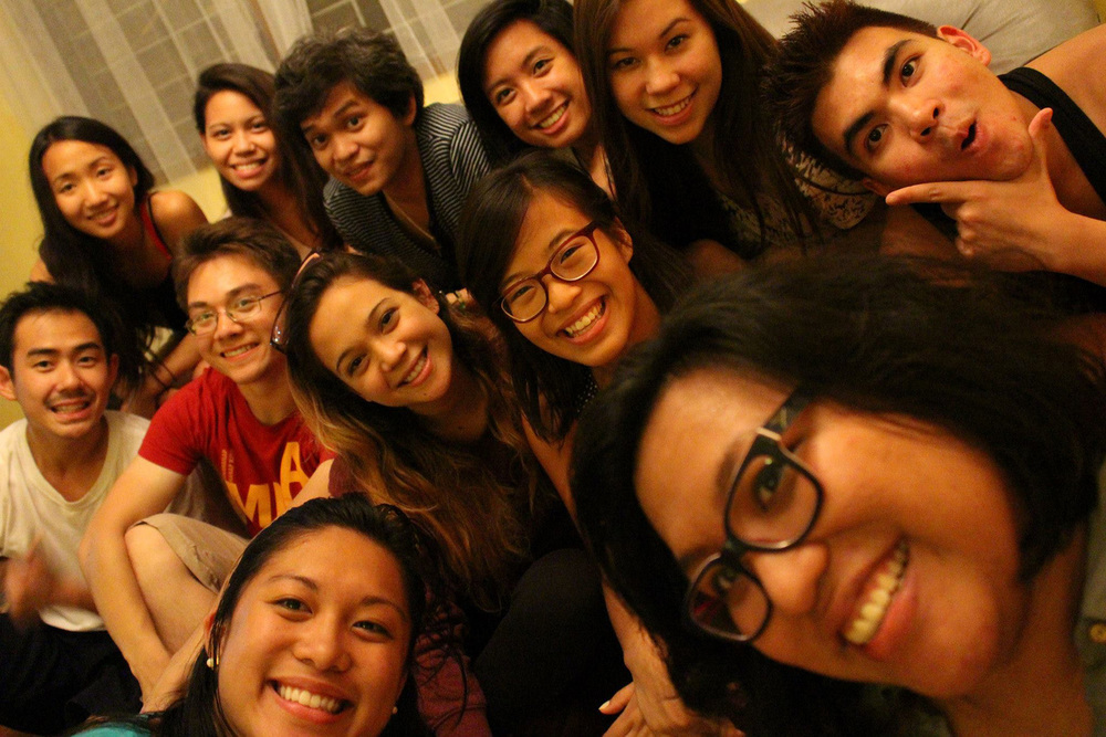 Fil-Am students from 10 different U.S. colleges (Photo by Erlinda Delacruz)