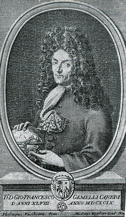 Gemelli Carreri (Source:  Voyage du Tour du Monde )