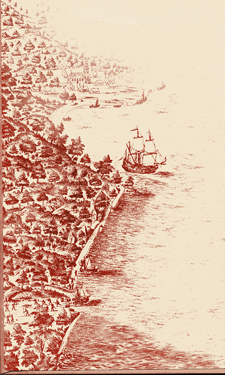 Manila Bay in the 17th Century