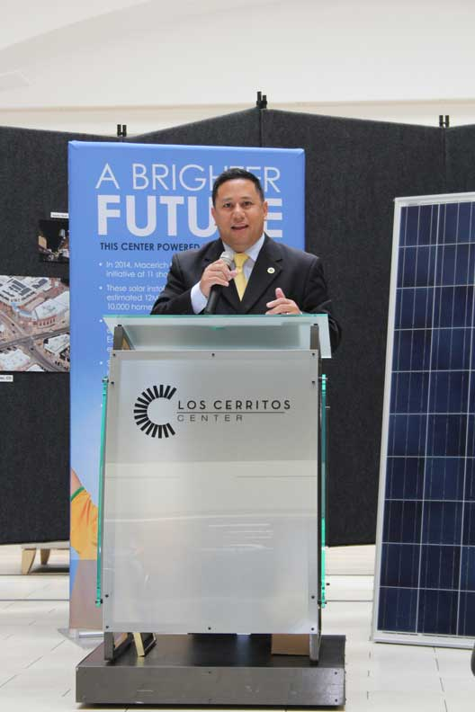 Cerritos Mayor Mark Pulido (Photo courtesy of the City of Cerritos)