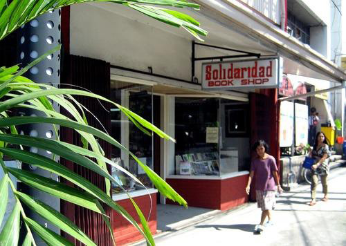 Solidaridad Book Shop in Ermita (Source: lougopal.com/manila)