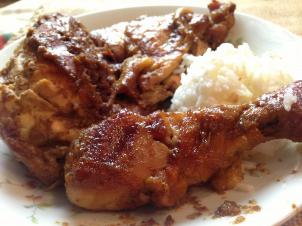 Chicken Inasal: Waray Style (Photo by Elizabeth Ann