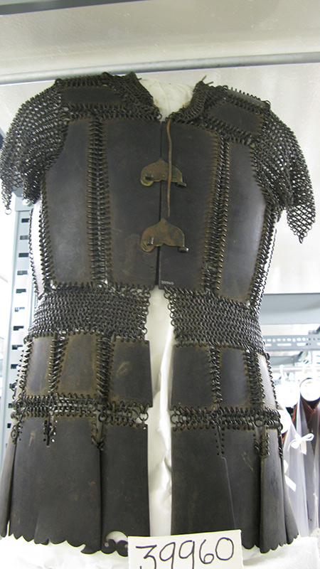 Armor made of carabao horn  (Photo by Dr. Almira Astudillo Gilles)