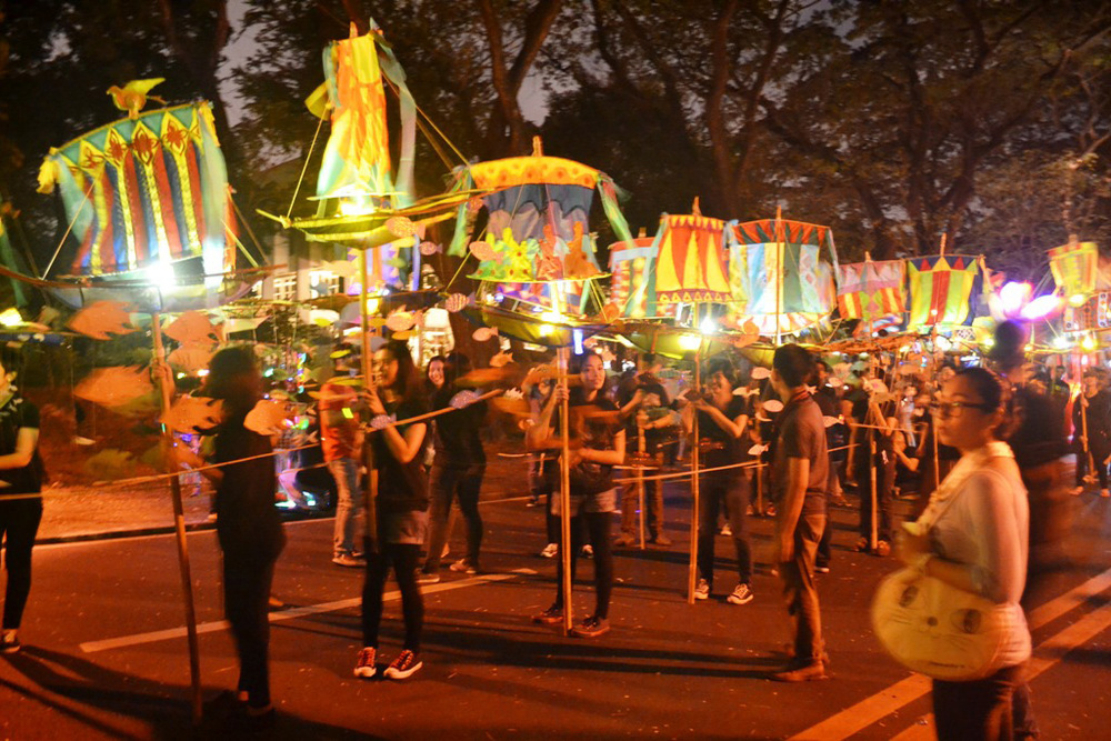 U.P. Lantern Parade (Source: Interaksyon 5)