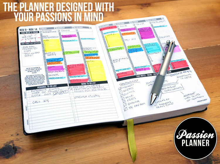 The Passion Planner (Source: www.passionplanner.com)