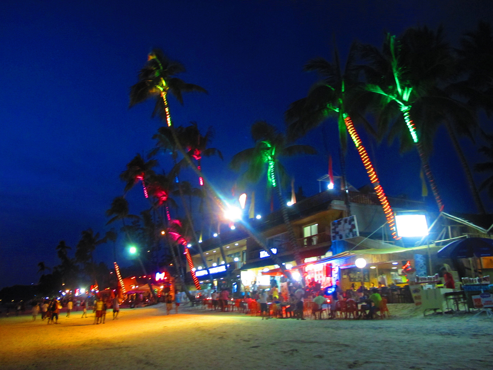 """Boracay at Night"" (Photo by Bessie Badilla)"