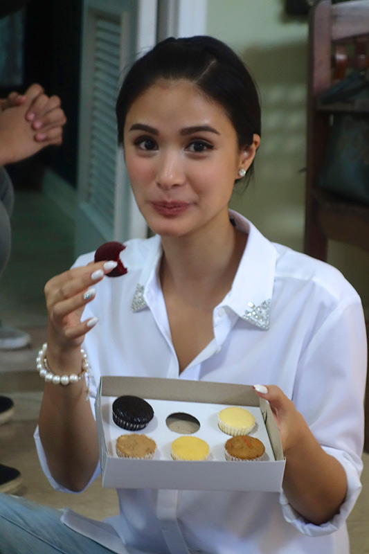 Actress Heart Evangelista (Photo courtesy of Judy Uson)