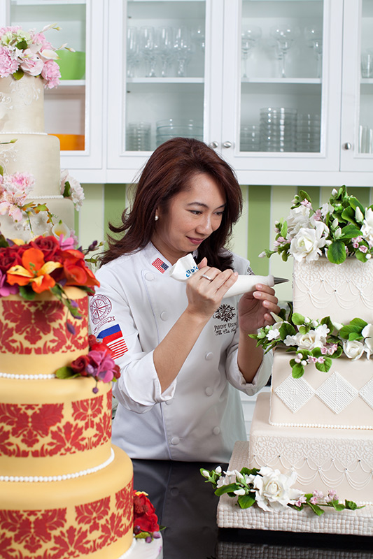 Chef Judy Uson at work (Photo courtesy of Judy Uson)