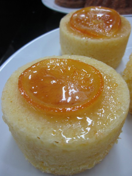 Chef Judy Uson's Orange Butter Cake
