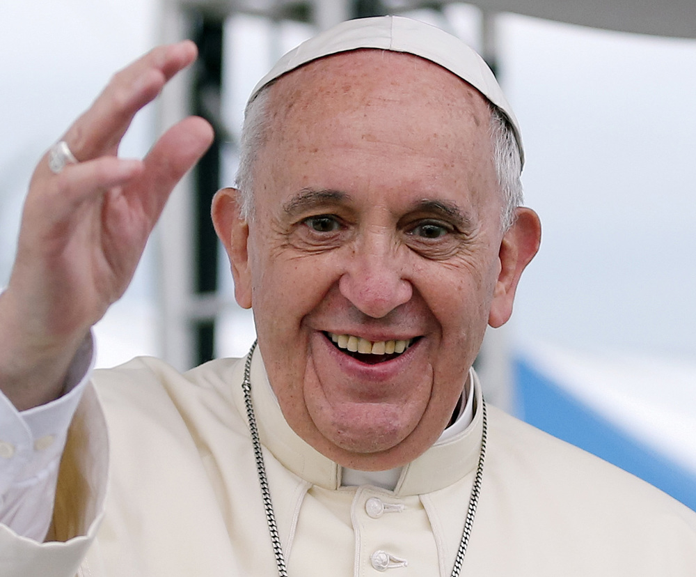 Pope Francis (Photo by Korean Cultural Information Service/Jeon Han/Wikimedia Commons)
