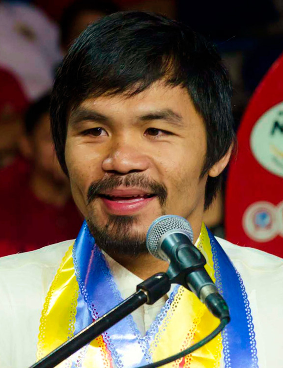 Sarangani Rep. Manny Pacquiao (Source: wikipedia.org)