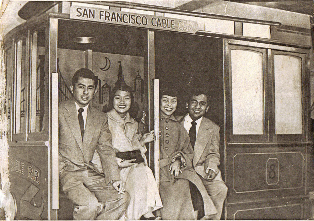 Youth from the rural Central Valley enjoy a rare outing in the big city in the 1950s. (Photo courtesy of Peter Jamero)