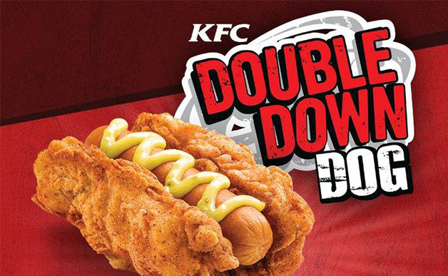 KFC's Double Down Dog (Source: mashable.com)