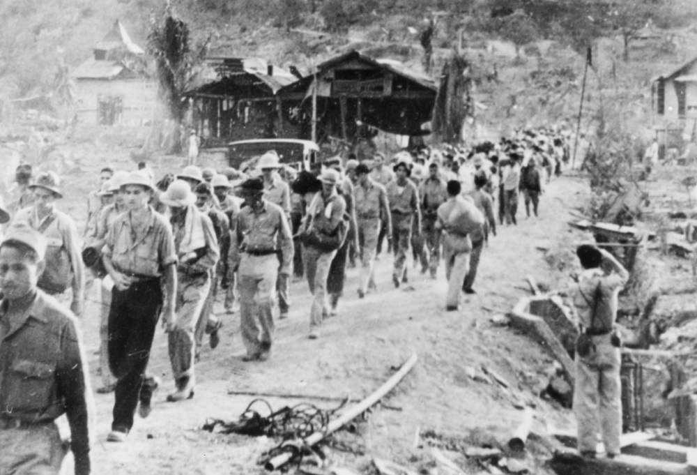The Bataan Death March (Source: nationalmuseum.af.mil)