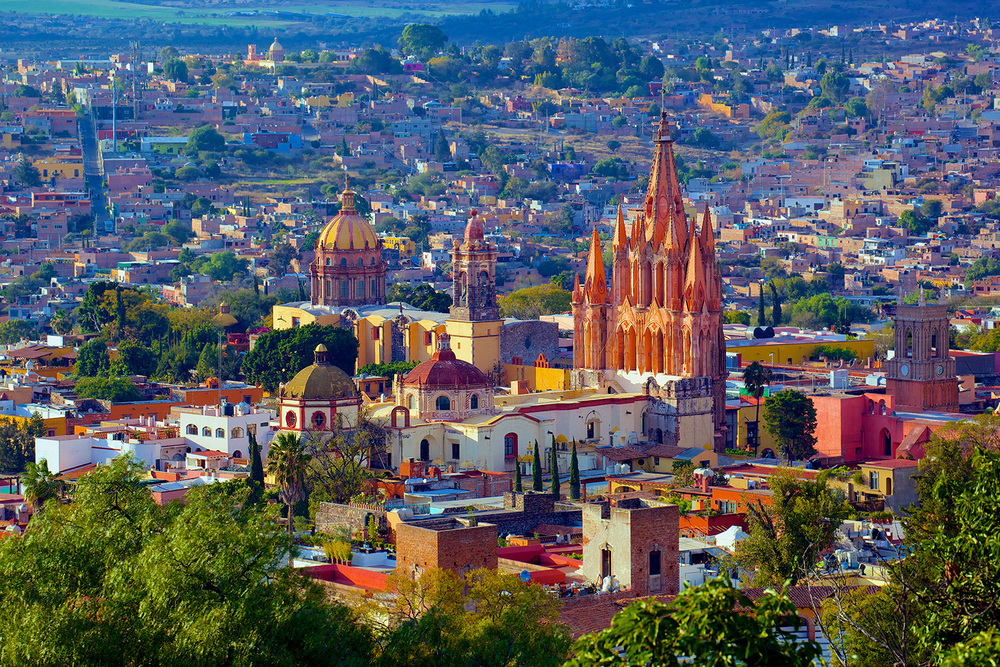 San Miguel de Allende cathedral (Source: wikipedia.org)