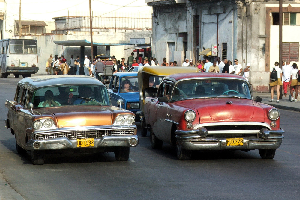 Cars in Havana (Source: wikipedia.com)