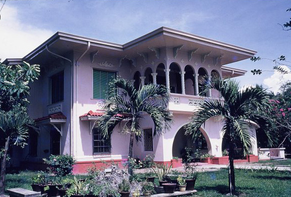The Leonor Rivera Ancestral Home in Camiling, Tarlac (1953) (Photo by Michael Kipping)