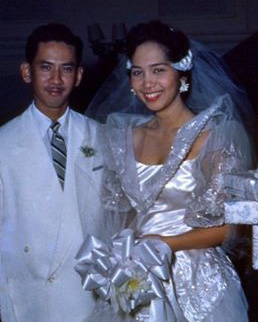 Leonor and Charles' grandson, the late Dr. Carlos R. Kipping Jr. married Visitacion Agana and lived in the Kipping ancestral home with their family. (Photo courtesy of Michael Kipping)