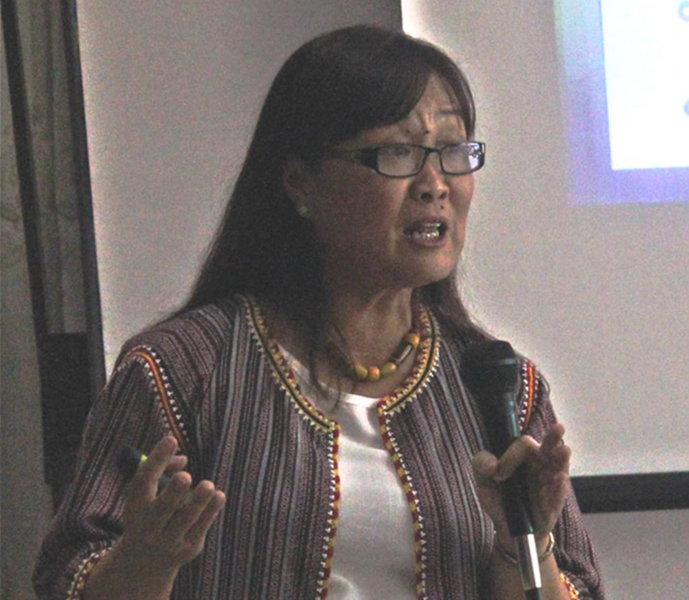 UP Professor Erlinda Palaganas (Source: SMU)