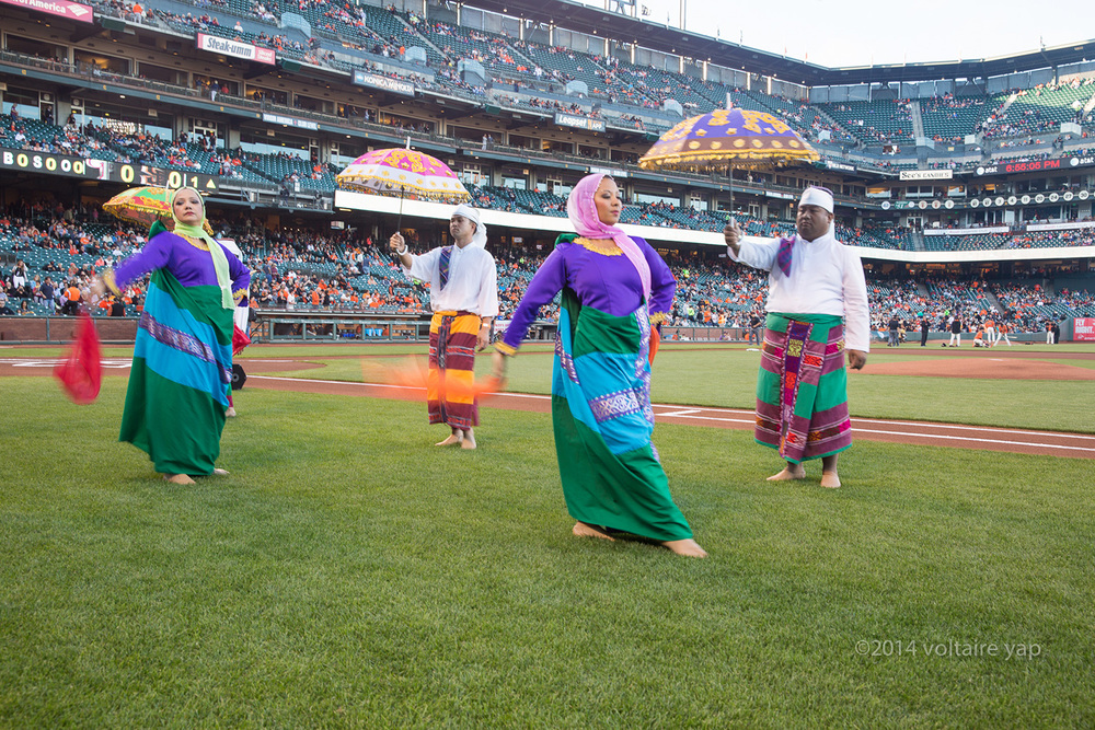 Filipino Heritage Night at AT&T Park