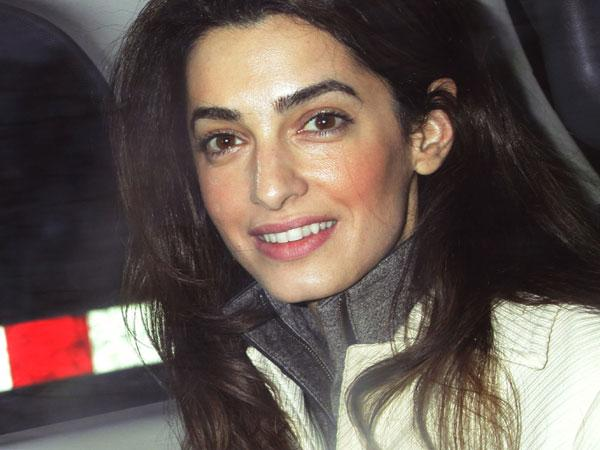 Amal Alamuddin Clooney (Source: Inquirer.net/AP Photo)