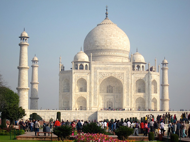 The Taj Mahal (Photo by Mona Lisa Yuchengco)