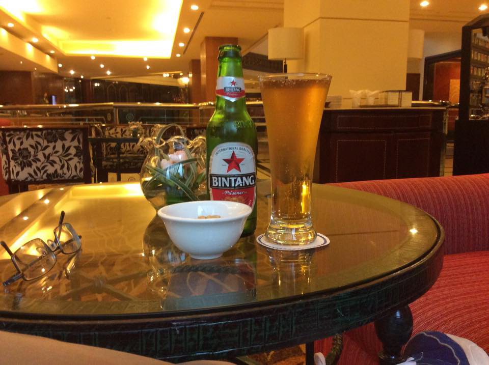 Blame it on alcohol. Bintang beer from Indonesia (Photo by Primo Rodriguez)