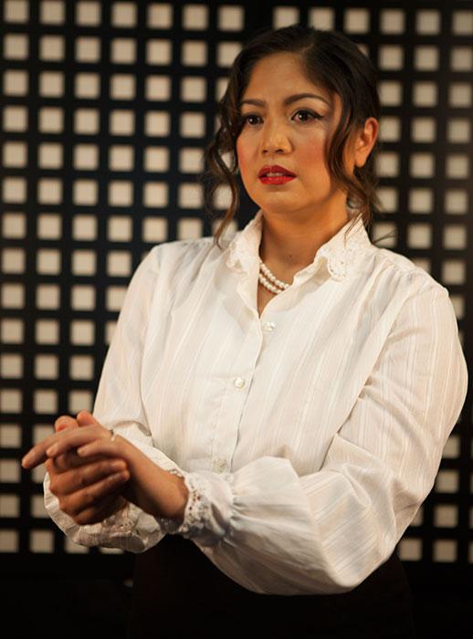 Esperanza Catubig as Hedda Tesman ( Photography by Egan and Rio Gache Hernandez   )