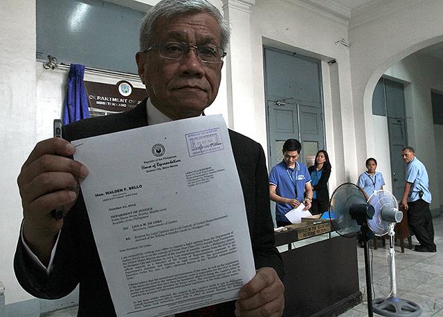 Rep. Walden Bello (Source: GMA News)