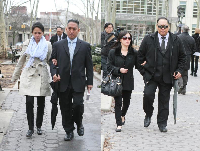 Brothers Rex (left picture) and Wilfredo Maralit (Source: NY Daily News/Jesse Ward)