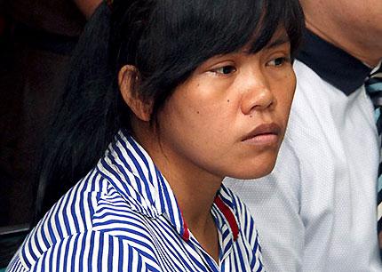 Mary Jane Veloso (Source: AP)